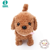iwaya日本兒童電動狗狗玩具泰迪 智慧聲控仿真狗男孩女孩毛絨寵物 JY