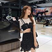 2019夏裝新款初春洋氣減齡氣質御姐裙學生很仙兩件套裝女時尚夏季