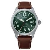 CITIZEN 飛行者三針光動能腕錶BM6838-25X