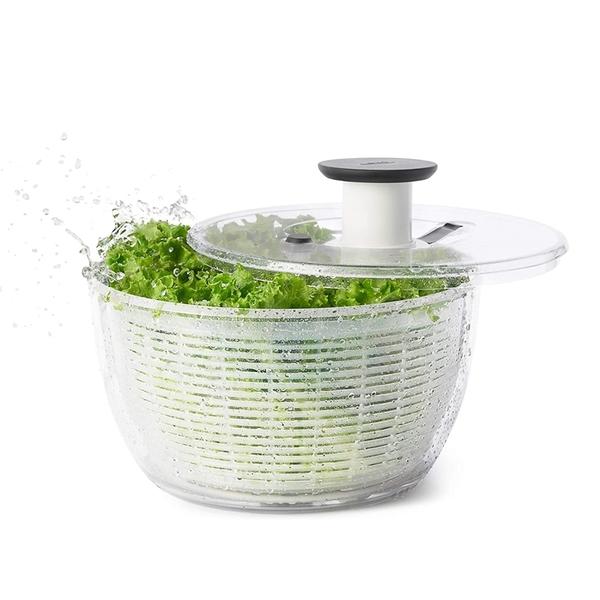 [9美國直購] 蔬菜旋轉脫水器 OXO Good Grips Salad Spinner, Large B00004OCKR