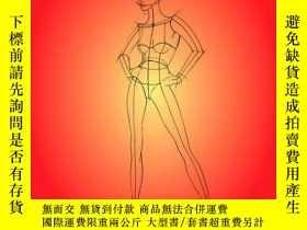 二手書博民逛書店時裝設計圖畫法Figure罕見drawing for fashi