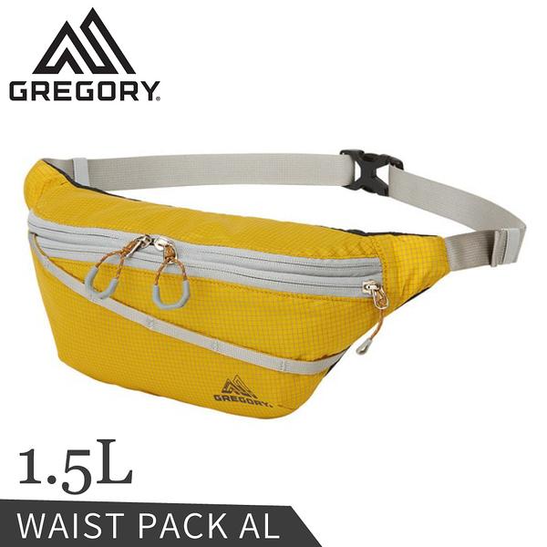 【GREGORY 美國 1.5L AL輕量腰包《芥末黃》】138246/斜背包/小包/側背包
