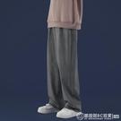 垂感闊腿褲 牛仔長褲 直筒寬鬆休閒褲 加絨加厚 潮流拖地褲子 自由角落