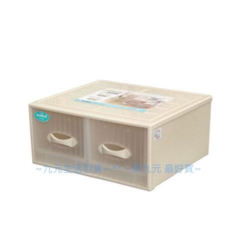 【九元生活百貨】聯府 CT-882 雙抽式抽屜整理箱 置物 收納 CT882