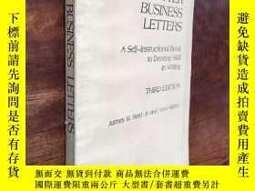 二手書博民逛書店Better罕見business lettersY1079