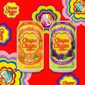 Chupa Chups  加倍佳 葡萄汽水 柳橙汽水 345ml