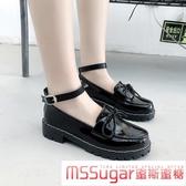 小皮鞋 學生少女jk鞋可愛小皮鞋女小黑鞋2020夏季涼鞋日系軟妹洛麗塔蝴蝶