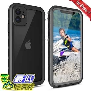 [9美國直購] iPhone 11 防水手機殼 Waterproof Case【IP68 Certified】 Shockproof Anti-Drop, 360°Full Body Underwater