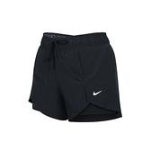 NIKE 女運動短褲(路跑 慢跑 訓練 三分褲 平織≡體院≡ DA0454-011