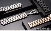 泊格鋼帶代用浪琴名匠L2男不銹鋼表帶L4蝴蝶扣18 19 20 22mm男女 安妮塔小舖