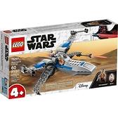 樂高積木LEGO《 LT75297 》STAR WARS™ 星際大戰系列 - Resistance X-Wing™ / JOYBUS玩具百貨