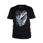 PUMA 基本系列鞋款短袖T恤 黑 581911-01