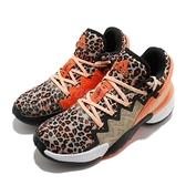 adidas 籃球鞋 D.O.N. Issue 2 GCA 黑 橘 男鞋 豹紋 動物紋 米邱 二代 運動鞋【ACS】 FY0895