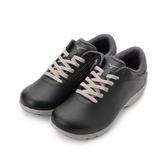 MIZUNO LS802 寬楦皮面健走鞋 黑 B1GF183809 女鞋