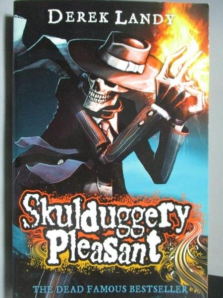 【書寶二手書T2/原文小說_ODM】Skulduggery Pleasant_Derek Landy