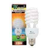 光然K-LIGHT 電子式螺旋省電燈泡-黃光(23W)【愛買】