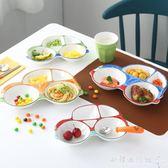 兒童餐具   早餐盤可愛卡通小汽車餐盤分格盤子寶寶飯盤餐具  『歐韓流行館 』