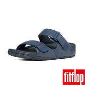 FitFlop TM _GOGH MOC TM ADJUSTABLE NUBUCK-午夜藍