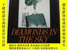 二手書博民逛書店Diamonds罕見in the Sky: A Social History of Air Travel-天空中的