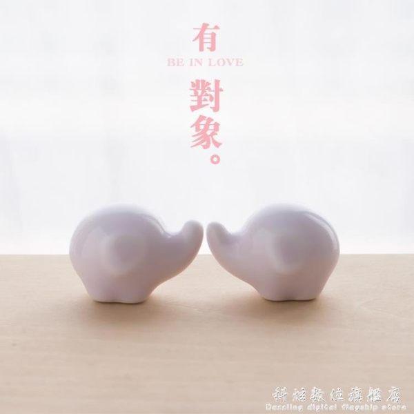創意禮物對象 超迷你可愛動物辦公室書桌面小擺件 日式家居裝飾品情侶配飾 科炫數位