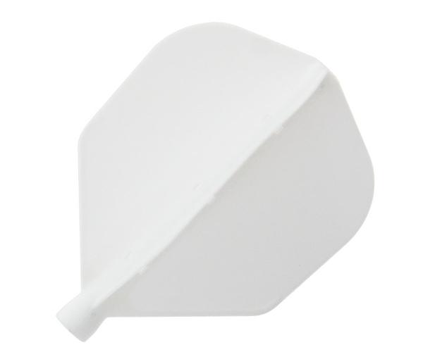 【darts on】AIR Flight Shape White 鏢翼 DARTS