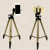 微單反相機三角架 釣魚燈架手機自拍直播視頻三腳架 BF13091『男神港灣』