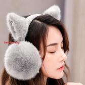保暖耳罩 冬天可愛貓耳朵耳罩