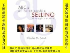 二手書博民逛書店Abc s罕見Of Relationship Selling: With Act! Express Cd-rom奇