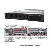 Lenovo ThinkSystem SR550 7X04SLBG00 2U機架式伺服器【Intel Xeon Silver 4208 / 16GB / Raid 930-8i + 2G】(2.5吋)