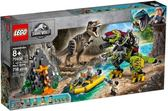 【LEGO樂高】JURASSIC WORLD 侏儸紀世界 T.rex vs Dino 機甲戰 #75938