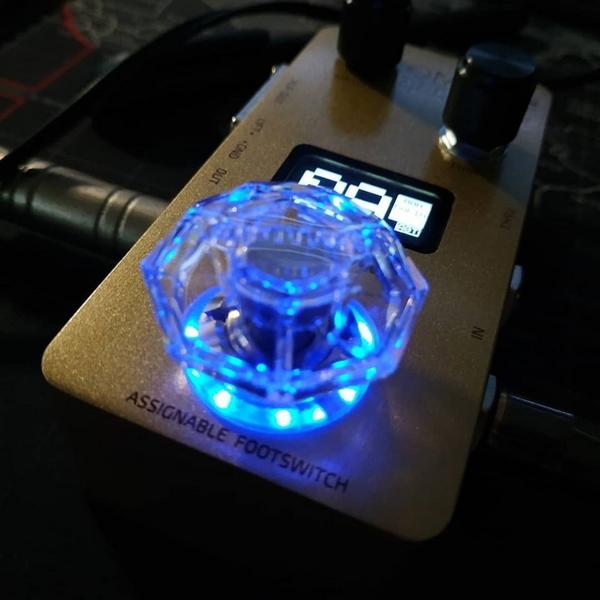 [唐尼樂器] Hotone Karat Cap 鑽石型 效果器 踩釘帽 腳踏開關蓋 標準規格它牌效果器可用