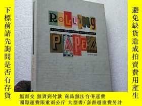 二手書博民逛書店GRAPHICS罕見ON ROLLING PAPER 16開 精