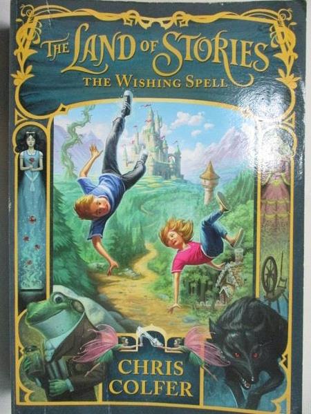 【書寶二手書T1/原文小說_BXU】The Land of Stories-The Wishing Spell