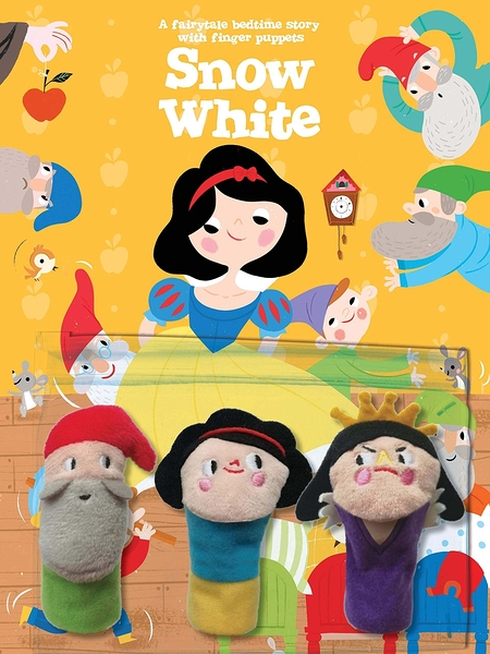 A Fairytale Bedtime Story With Finger Puppets:Snow White 睡前故事:白雪公主指偶書