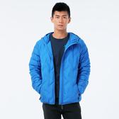 BigTrain 無縫貼格超輕量羽绒外套-男-亮藍-B4016855