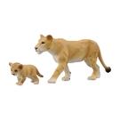TOMICA多美動物園 AS17 獅媽媽與寶寶