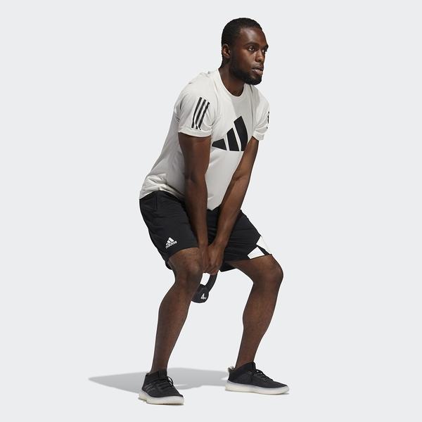 Adidas 4K 3 BAR SHORT 男款 黑色 專業訓練 運動短褲 GL8943【KAORACER】