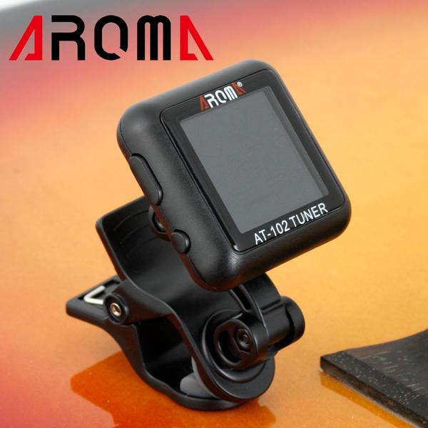 【小叮噹的店】全新 AROMA AT-102 夾式 調音器 (充電式) 吉他/烏克麗麗/貝士 通用