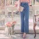 東京著衣【YOCO】雜誌感美型剪接顯瘦綁...