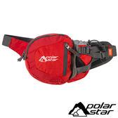 【PolarStar】休閒腰包『紅』露營.旅遊.戶外.路跑.慢跑.三鐵.越野.隨身包.旅行包.護照包 P15814-101