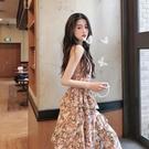 蛋糕裙 裙子2021年新款春夏季碎花初戀茶歇閨蜜短袖吊帶蛋糕連身裙女長裙 寶貝寶貝計畫 上新