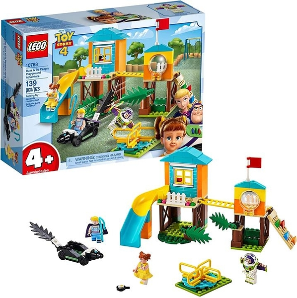 LEGO 樂高 Disney Pixars Toy Story Buzz & Bo Peep's Playground Adventure 10768 Building Kit (139 Pieces)