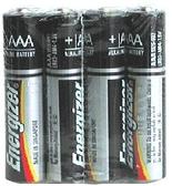 【奇奇文具】勁量Energizer 4號 AAA 真空包裝 鹼性電池(1封4個)