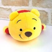 小熊維尼 趴趴抱枕娃娃 超舒服觸感 Mocchi-Mocchi 日本正品 S號 迪士尼 該該貝比日本精品 ☆