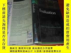 二手書博民逛書店Evaluation(評估)英文原版罕見作者: Green, J