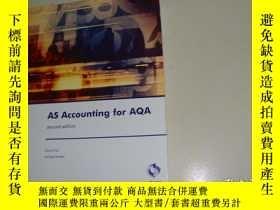 二手書博民逛書店AS罕見Accounting for AQAY28441