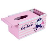 【震撼精品百貨】Hello Kitty 凱蒂貓~台灣授權三麗鷗HELLO KITTY木製面紙盒-粉*38725