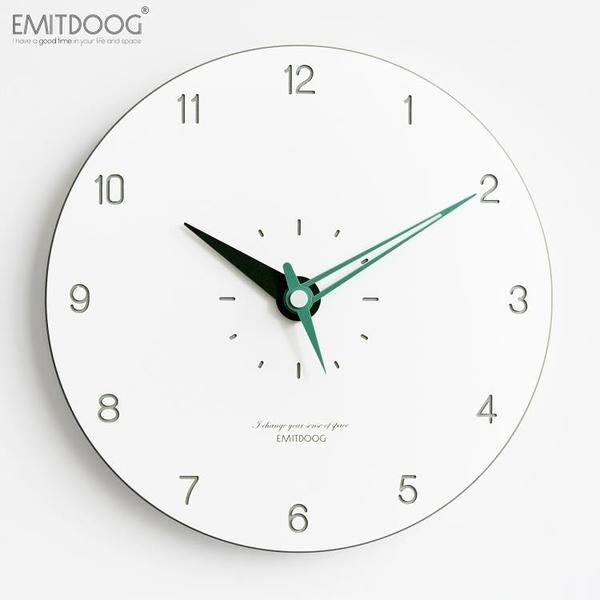 掛鐘客廳個性創意時尚潮流家用臥室靜音時鐘北歐現代鐘表