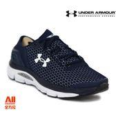 【UA Under Armour】男款慢跑鞋SpeedForm -深藍(3000288401)全方位慢跑概念館