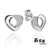 蘇菲亞SOPHIA - 艾莉娜0.08克拉鑽石耳環